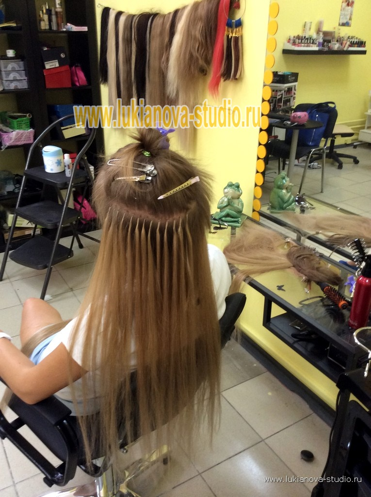 Лучший салон для наращивания волос